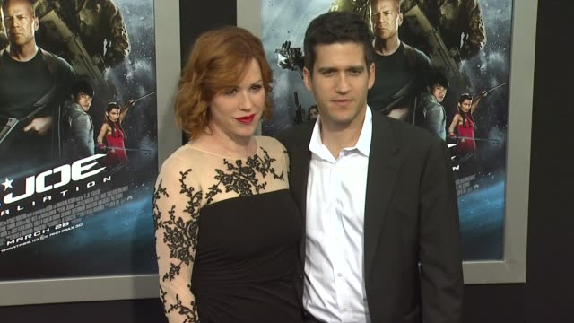 molly ringwald panio gianopoulos at gi joe retaliation los angeles premiere 3/28/2013 in hollywood ca - molly ringwald stock videos & royalty-free footage