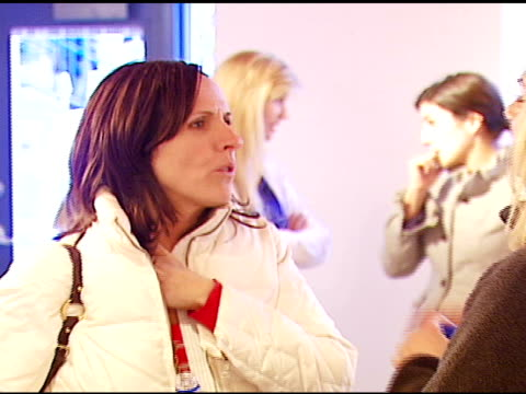molly shannon at the aerie spa at the village at the lift in park city, utah on january 18, 2007. - molly shannon stock videos & royalty-free footage
