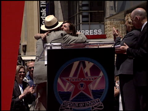molly shannon at the dedication of gilda radner's star on june 27, 2003. - molly shannon stock videos & royalty-free footage