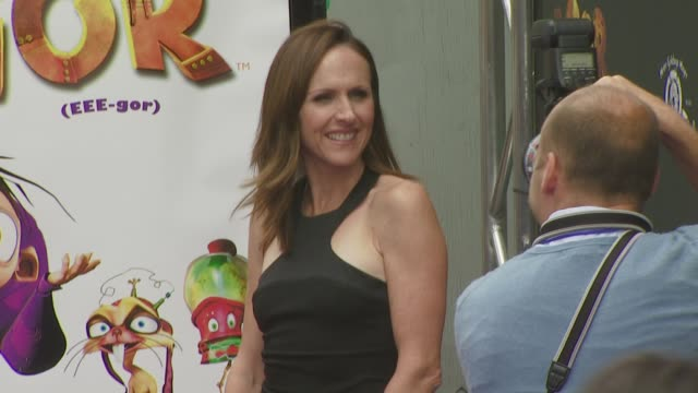 molly shannon at the igor premiere at los angeles ca. - molly shannon stock videos & royalty-free footage
