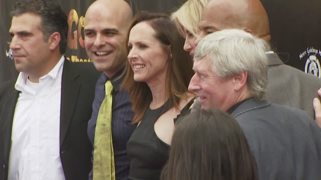molly shannon, tony leondis at the igor premiere at los angeles ca. - molly shannon stock videos & royalty-free footage