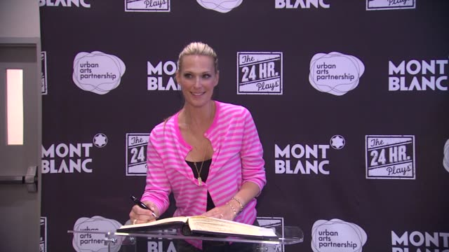 Molly Simms at Montblanc Presents The 3rd Annual 24 Hour Plays In Los Angeles on 6/22/13 in Los Angeles CA
