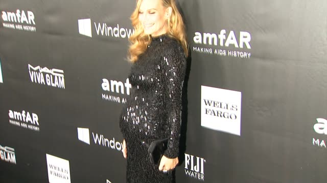 molly sims at amfar inspiration los angeles 2014 in los angeles ca - molly sims stock videos & royalty-free footage