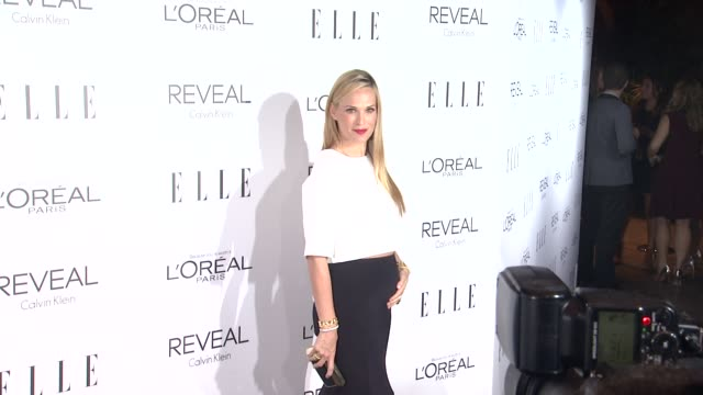 molly sims at elle's 21st annual women in hollywood celebration in los angeles ca - molly sims stock videos & royalty-free footage
