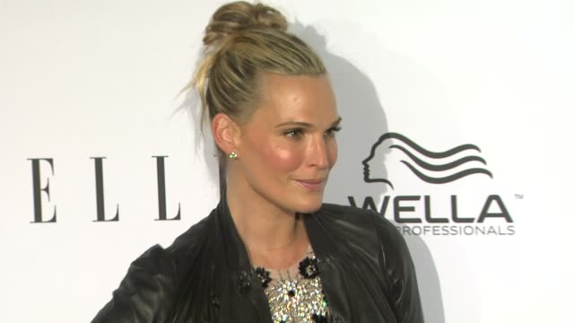 molly sims at elle's 2nd annual 'women in television' celebration 1/24/2013 in west hollywood ca - molly sims stock videos & royalty-free footage