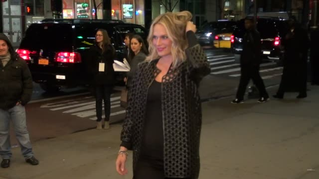 molly sims at rock and republic for kohlõs runway show in new york on 2/10/2012 - molly sims stock videos & royalty-free footage