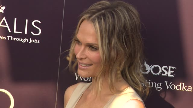 molly sims at the 10th annual chrysalis butterfly ball at los angeles ca - molly sims stock videos & royalty-free footage