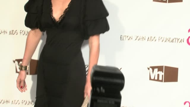 molly sims at the 14th annual elton john aids foundation oscar party co-hosted by audi, chopard and vh1 at the pacific design center in west... - oscar party stock videos & royalty-free footage
