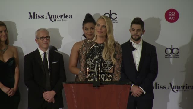 speech molly sims at the 2018 miss america competition on september 10 2017 in atlantic city new jersey - molly sims stock videos & royalty-free footage