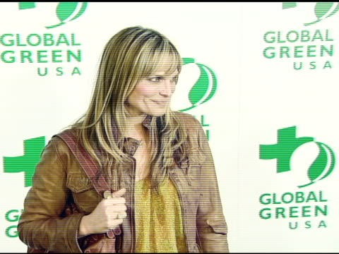 molly sims at the global green usa's 5th annual preoscar party at null in hollywood california on february 20 2008 - pre party stock videos and b-roll footage