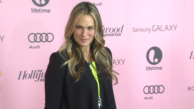 molly sims at the hollywood reporter's 21st annual 'women in entertainment' breakfast in beverly hills ca on 12/5/12 - molly sims stock videos & royalty-free footage
