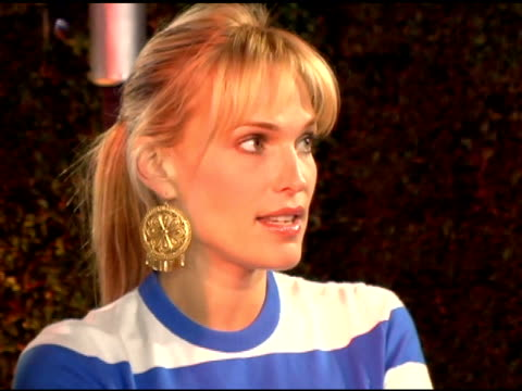 molly sims at the pioneer electronics launch of their automotive navigation system at montmartre lounge in hollywood, california on april 21, 2005. - molly sims stock videos & royalty-free footage