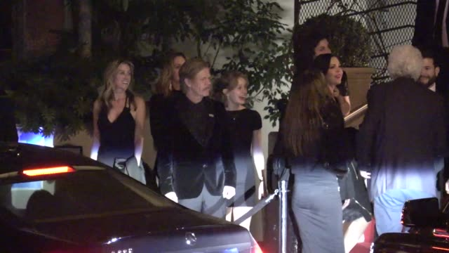 molly sims william h macy at golden globe awards after party at sunset towers in west hollywood in celebrity sightings in los angeles - golden globe awards stock-videos und b-roll-filmmaterial