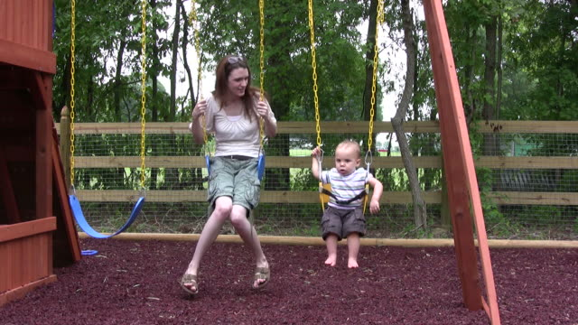 Mom and Son Swing HD