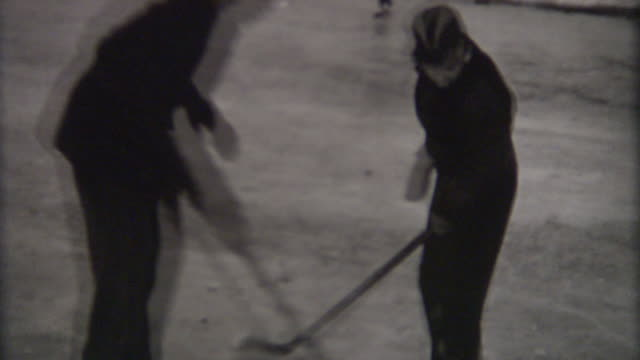 mom hockey 1940 - 1940 stock videos & royalty-free footage
