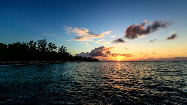 mona sunset - caribbean stock videos and b-roll footage