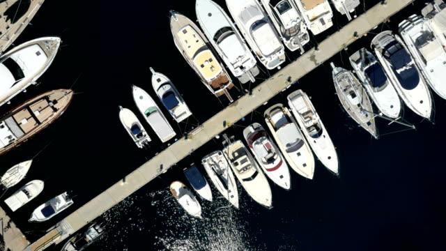 monaco aerial drone monte carlo oceanographic museum - monte carlo stock videos & royalty-free footage