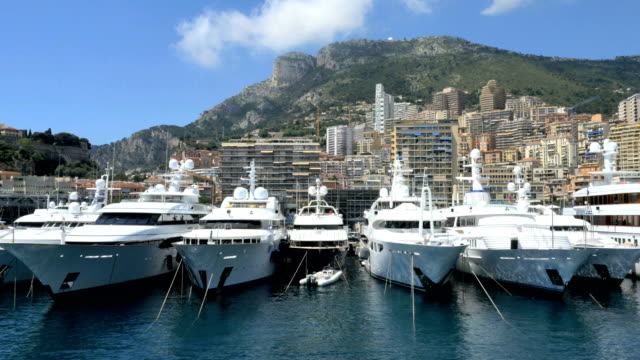 monaco aerial drone monte carlo oceanographic museum - monaco stock videos and b-roll footage