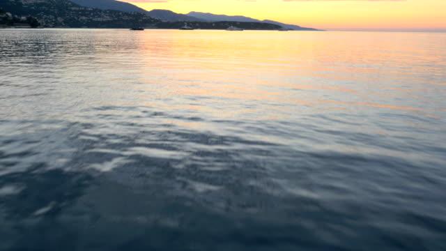 monaco aerial yacht monte carlo water boat harbor - 地中海点の映像素材/bロール