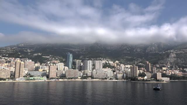 Monaco scene along the waterfront