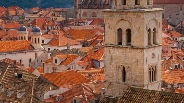 Monastery and old town in Dubrovnik