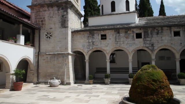 Monastery of the Holy Archangel, Carigradska draga, Krka National Park