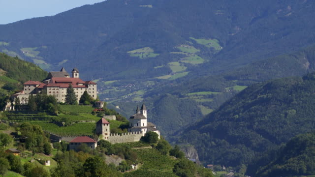 Monastery on a Mountain Rock in South Tyrol PAN