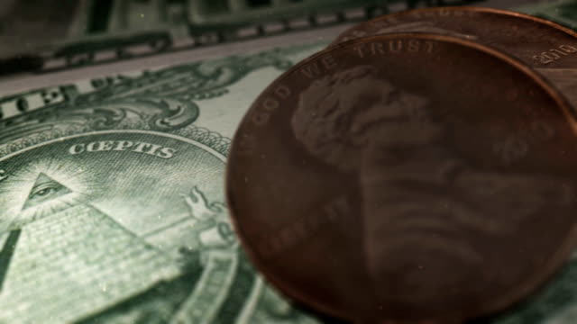 money, coins macro - fifty cent coin stock videos and b-roll footage
