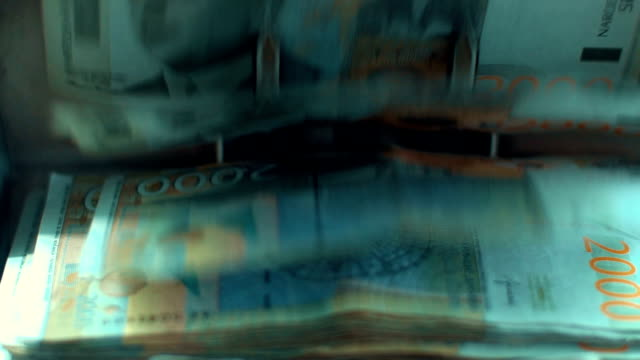 money counter slow motion - money makes the world go around stock videos and b-roll footage