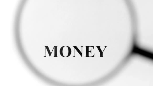vidéos et rushes de l'argent loupe - symbole du yen
