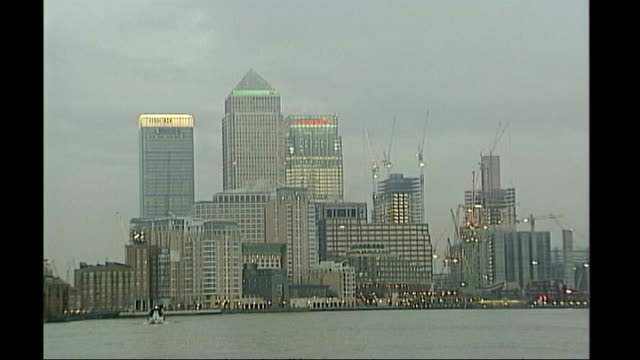 Money markets / Mortgage crisis threat City of London skyline