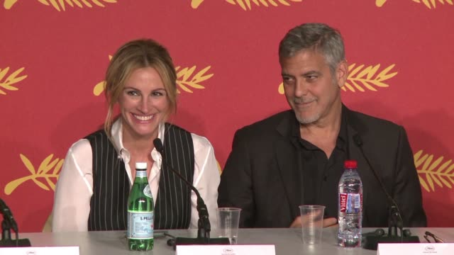 Money Monster director Jodi Foster and cast members Julia Roberts and George Clooney spoke about their careers and other subjects at a press...
