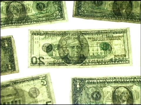 money pattern - 人の姿点の映像素材/bロール