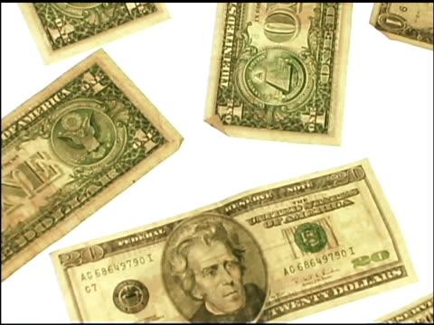 money pattern - männliche figur stock-videos und b-roll-filmmaterial