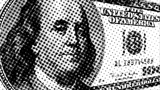 money stock video - cash 003 hd, 4k - benjamin franklin stock videos and b-roll footage