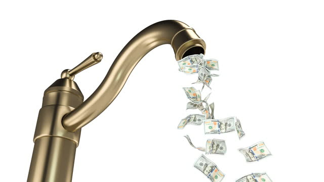 money tap - banknote stock videos & royalty-free footage