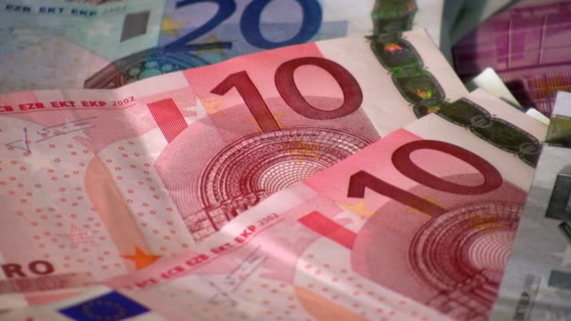 hd: money - euro symbol stock videos and b-roll footage