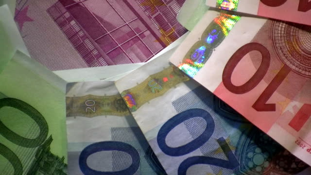 stockvideo's en b-roll-footage met hd: money - tien euro