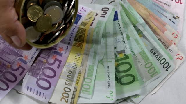 money - papiergeld stock videos & royalty-free footage