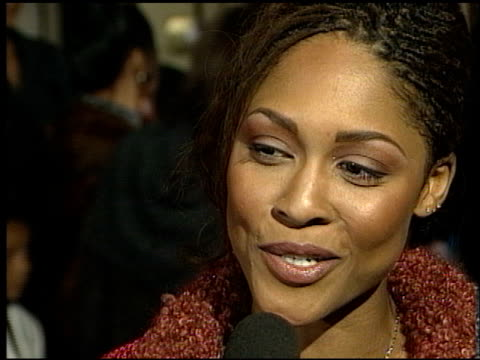 Monica Calhoun at the Premiere of 'The Players Club' on April 6 1998