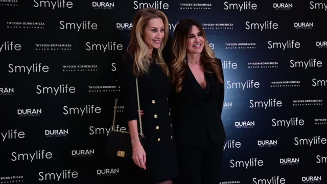 ESP: 'Smylife Collection Beauty Art' Photocall In Madrid