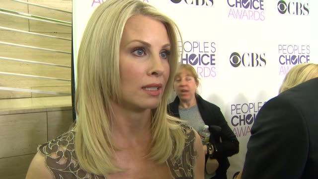 Monica Potter on the People's Choice Awards at People's Choice Awards 2013 Nominations Press Conference in Beverly Hills CA on 11/15/12 INTERVIEW...