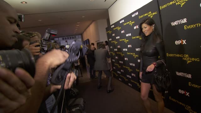 Monika Chiang at EPIX And VANITY FAIR Present The Premiere Of Everything Or Nothing The Untold Story Of 007 At MoMA And Metropolitan Club at MOMA on...