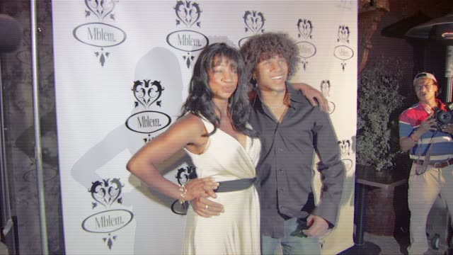 monique coleman and corbin bleu at the mandy moore debuts the mblem fall and holiday 2007 collection at citizen smith in hollywood, california on... - monique coleman stock videos & royalty-free footage