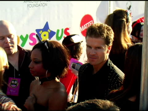monique coleman and louis van amstel at the 13th annual dream halloween fundraising event at barker hanger in santa monica, california on october 28,... - monique coleman stock videos & royalty-free footage