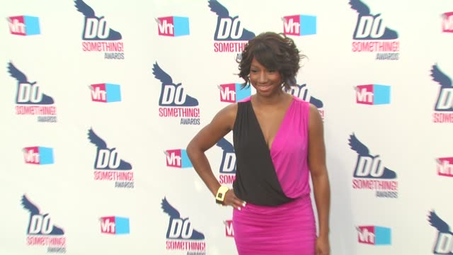 monique coleman at the 2010 vh1 do something awards at hollywood ca. - do something awards stock videos & royalty-free footage
