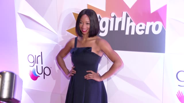 monique coleman at the girl up's inaugural #girlhero awards luncheon at sls hotel on october 14, 2018 in beverly hills, california. - monique coleman stock videos & royalty-free footage