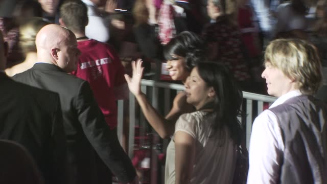 monique coleman at the high school musical 3: senior year premiere at los angeles ca. - monique coleman stock videos & royalty-free footage