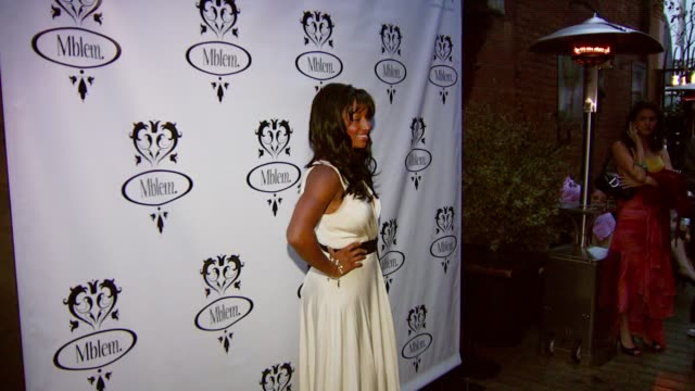 monique coleman at the mandy moore debuts the mblem fall and holiday 2007 collection at citizen smith in hollywood, california on june 10, 2007. - monique coleman stock videos & royalty-free footage
