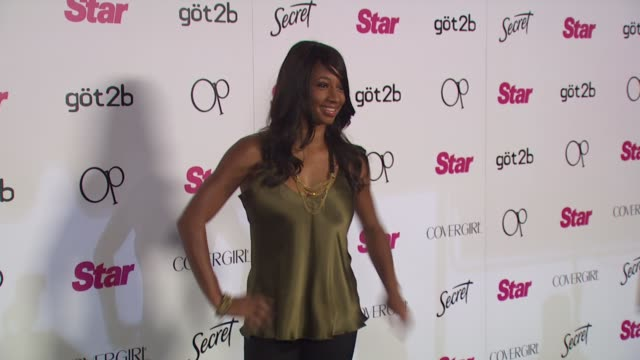 monique coleman at the star magazine celebrates 5th anniversary at los angeles ca. - monique coleman stock videos & royalty-free footage